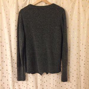 Banana Republic Sweaters - Banana Republic Split Front Wool Sweater